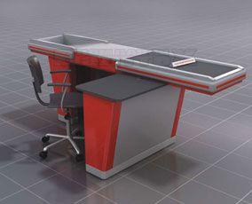 Кассовый стол с транспортером цена натяжное устройство цепного конвейера